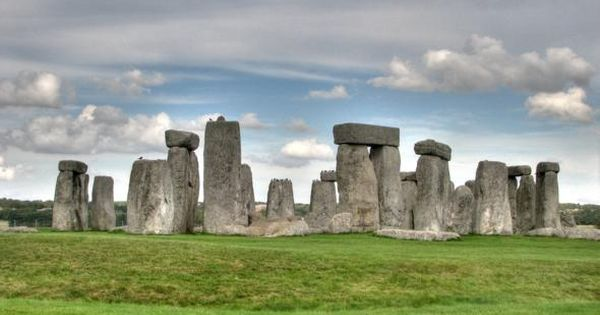 Stonehenge, England. This is my favorite place of all the places I've