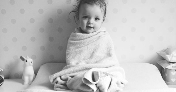 baby after a bath - photo idea, this is so sweet