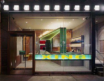 Eye Catching Interior Of A Chinese Restaurant In New York Restaurant Interior Design News Ltl Architects Restaurant Interior Design Shop Front Design
