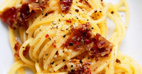 Pancetta | A taste for....(4 )(Juli) | Pinterest | Hams and Spaghetti