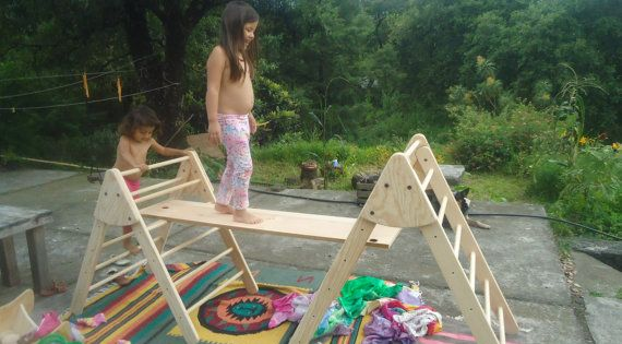 Wooden Climbing Triangle Pikler Pikler Triangle By