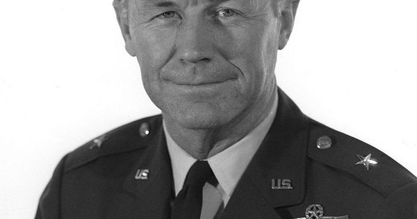 the life and military career of us air force pilot charles chuck e yeager Chuck yeager, byname of charles elwood yeager, (born february 13, 1923,  myra, west virginia, us), american test pilot and us air force officer who was .