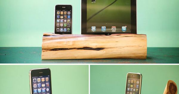 www.sustainabilityinitiative.com Cedar wood iPhone, iPod, and iPad docking stations iphone wood DIY
