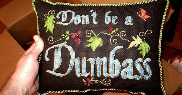 Image result for don't be a dumbass