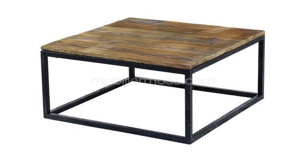 Smoldy Table Basse De Salon Vintage Style Industriel R Tro 199 Campagne Chic Pinterest