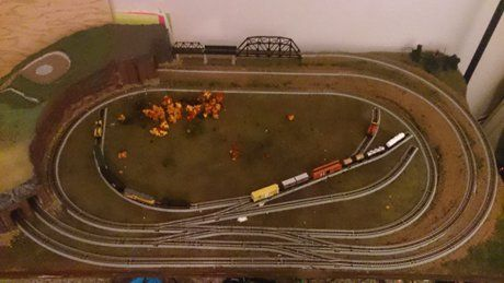 Model Train Layouts Track Plans In N Scale Various Projects Designed With Scarm Layout Software Model Trains Ho Train Layouts N Scale Model Trains
