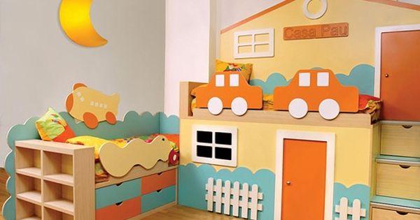 Modelos de cuartos para ni os piezas infantiles for Decoracion piezas infantiles
