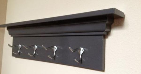 Simple Coat Rack Do It Yourself Home Projects From Ana White Coat Rack Wall Diy Coat Rack Wooden Coat Rack