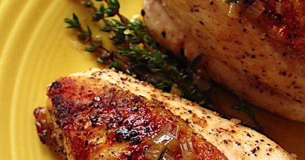 Sear Roasted Chicken Breasts with Shallot Herb Pan Sauce ...