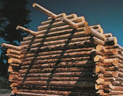 Cabin Roofs How To Build A Log Cabin Log Cabin Small Log Cabin