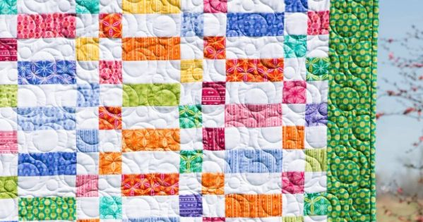 Make A Strips Four Patches Quilt With Jenny Doan And Her