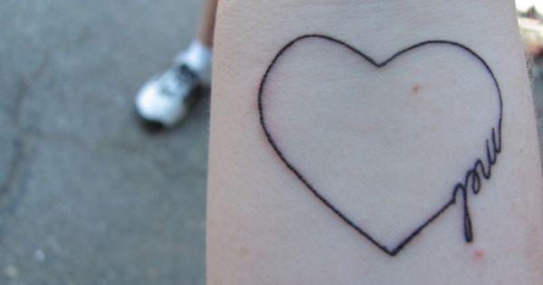 Heart tattoo ink Tattoo Art