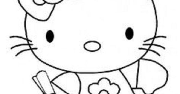 Hello Kitty Graduation Coloring Pages : Hello kitty graduation coloring pages education