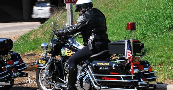 Twin Lakes Police Department Motorcycle Officer Police Twin Lakes Motorcycle