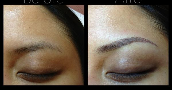 Brow embroidery embroidery eyebrows and brows for Best eyebrow tattoo san diego