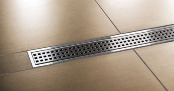Schluter Kerdi Linear Drain Our Favorite Installation