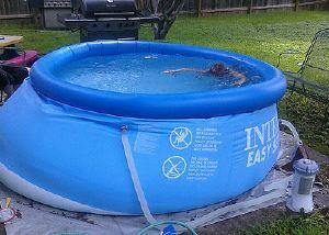Pool Cove And Padding Questions Pallet Pool Intex Pool Easy Set Pools