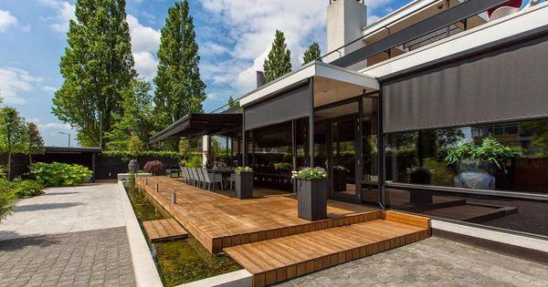 Welnesstuin rotterdam hillegersberg luxe tuin moderne tuin tuinontwerp tuinarchitect modern - Moderne landschapsarchitectuur ...