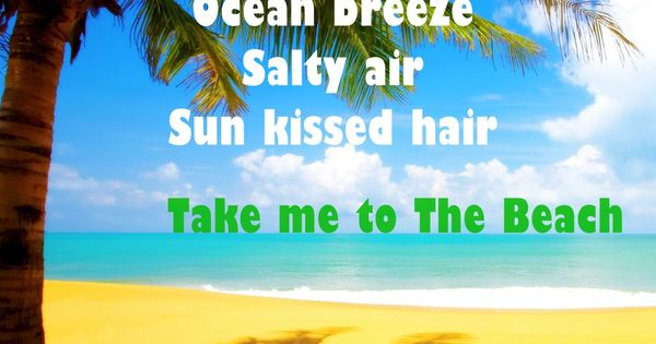 Quote Of The Day '' Palm trees, Ocean breeze, Salty air ...