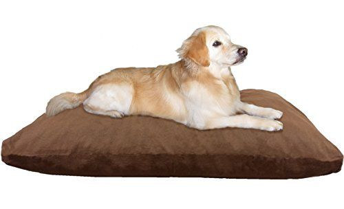 Dogbed4less Jumbo Extra Large Memory Foam Dog Bed Pillow With Orthopedic Comfort Heavy Duty Waterpr Best Orthopedic Dog Bed Dog Pillow Bed Orthopedic Dog Bed