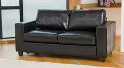 Burlington 3 Seat Black Sofa Company Retro Sofa Sofa Outlet