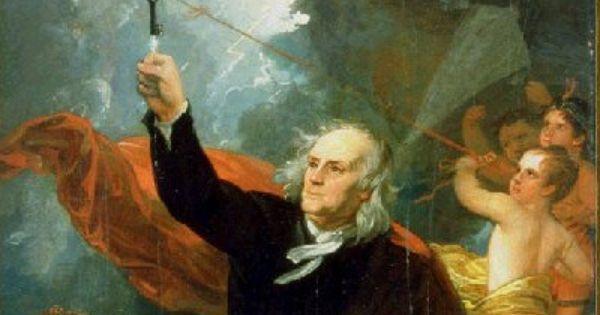 Benjamín Franklin Inventó El Pararrayos 22 De Junio De 1752