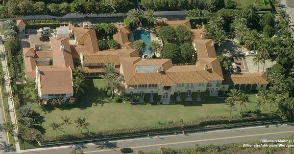 Billionaire David Koch S Mansion In Palm Beach Fl