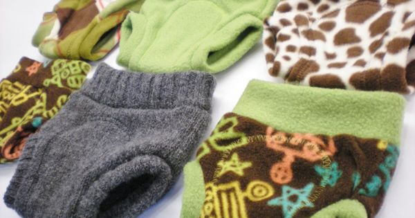 fleece and wool soakers tutorial