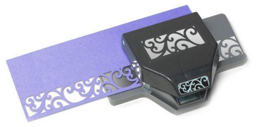 Retro Flower EK Success Tools Edger Punch Old Package