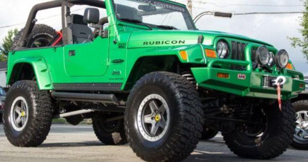 2005 Jeep Wrangler Unlimited Rubicon Custom Jeep Wrangler Jeep