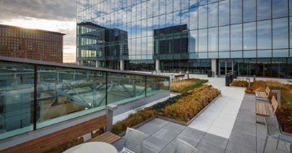 101 Seaport Roof Skanska Rooftop Deck Rooftop Deck Roof Building
