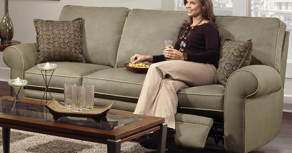 Cosmopolitan Transitional Double Reclining Sofa By Southern Motion Fashion Furniture
