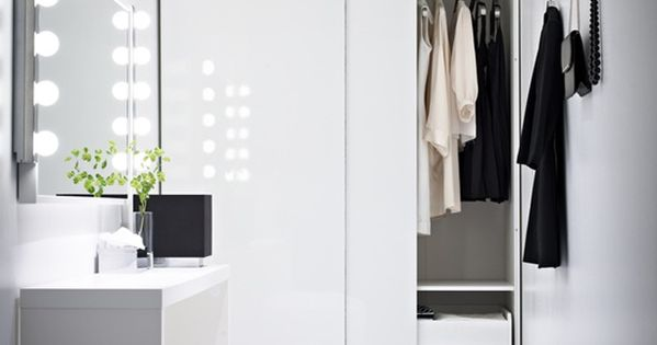 Dressing Room I want either my bedroom or washroom to have these