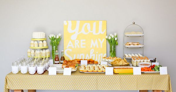 You are my sunshine party idea