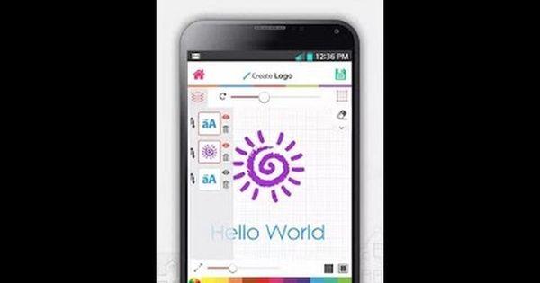 إنشاء لوجو أو شعار إحترافي بدون برامج فوتوشوب Samsung Galaxy Phone Galaxy Phone Custom Logos