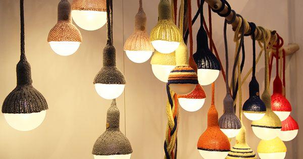 wie kuschelig stephanie aus melbourne erstellt originelle lampen mit dem gewissen. Black Bedroom Furniture Sets. Home Design Ideas