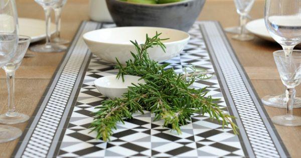 l 39 objet d co du jour le chemin de table beija flor cuisine deco and tables. Black Bedroom Furniture Sets. Home Design Ideas
