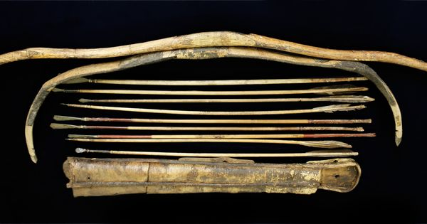 Artifacts of the Empire mongolian bow arrows quiver ...