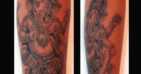 realistic tattoo ganesha tattoo tattoo idea fuerteventura tattoo carlofuertetattoo. Black Bedroom Furniture Sets. Home Design Ideas