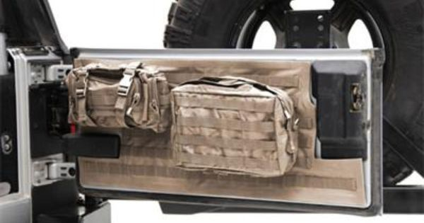 Smittybilt G E A R Tailgate Cover Coyote Tan 5662224