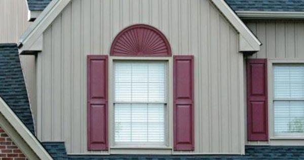 Siding Accessories Window Header Unified Window Systems Exterior Vinyl Shutters Vinyl Shutters Shutters Exterior
