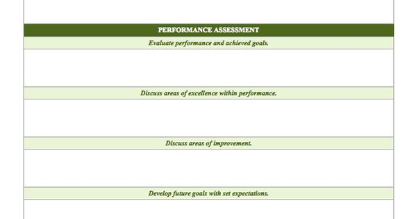 Free Employee Performance Review Templates - Smartsheet just - employee review