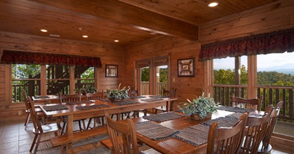 Gatlinburg Cabin - The Big Kahuna - 9 Bedroom | Travel | Pinterest ...