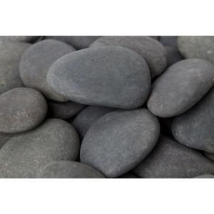 Rain Forest 3 In To 5 In 30 Lb Mexican Beach Pebbles Rfgmbp5 30 The Home Depot Mexican Beach Pebbles Mexican Beaches Landscaping With Rocks