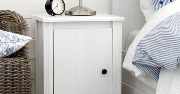 Slaapkamer Hemnes : BRUSALI, nachtkastje wit IKEA € 39,95 HOME ...