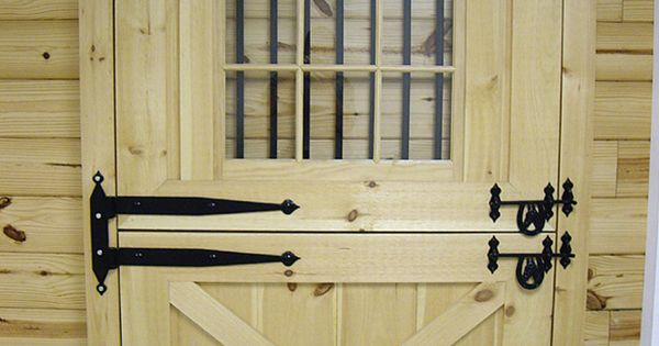 Backyard diy ideas dutch doors exterior lowe s for Dutch door lowes