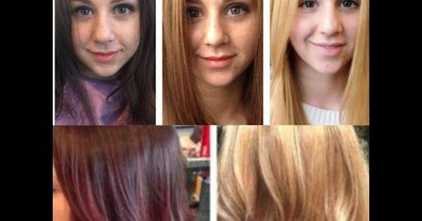 توحيد لون الشعر متى وكيف نستخدم مزيل اللون و كيفية تفتيح الشعر المصبوغ Youtube Beauty Beauty Care Hairdresser