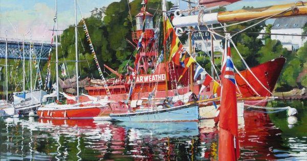 5 Exposition De Peinture Henri Le Goff Tableaux Marines Et Paysages De Bretagne Galerie De Tableaux En Ligne Bretagne Paysage Douarnenez Peintre