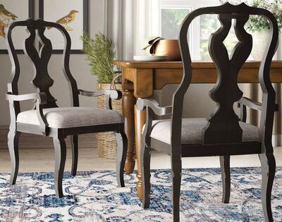 Darby Home Co Darya Upholstered Dining Chair Set Of 2 Dining