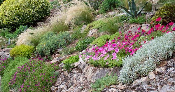 Rocaille Jardin Pinterest Rocaille Massif Fleurs Et Sous Sols